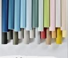 北歐現代簡約布紋亞麻墻紙 純色素色無紡布...