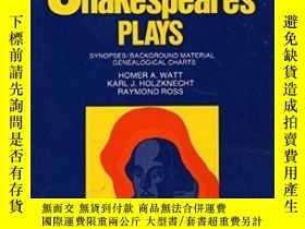 二手書博民逛書店Outlines罕見Of Shakespeare s PlaysY255562 Watt, H. A. Har