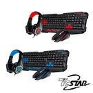 【限時下殺】 T.C.STAR 連鈺 KIT9908 電競耳機鍵盤滑鼠組 鍵鼠組