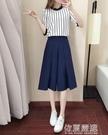 2020夏裝新款女裝氣質時尚裙韓版春季淑女甜美洋氣時髦兩件套裝潮 依夏嚴選