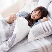 床包 / 單人【日青】含一件枕套 60支天絲 戀家小舖台灣製AAU101