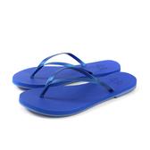 MALVADOS LUX 萊絲系列 夾腳拖 人字拖 拖鞋 雨天 藍色 女鞋 2005-2166 no025