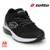 【LOTTO】女款 氣墊跑鞋-黑色(L5650)全方位跑步概念館