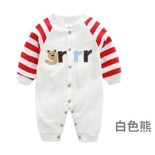 長袖連身衣 可愛動物寶寶兔裝 棉質嬰兒服 LW4472 好娃娃