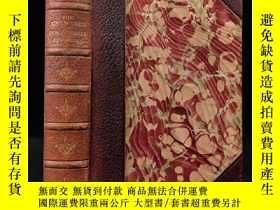 二手書博民逛書店約19世紀後期罕見堂吉訶德 配版畫插圖 真皮精裝32開Y11827 Cervantes George Rout