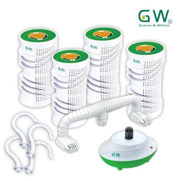 GW 水玻璃分離式除濕機六件組(附掛勾)ADE-335CA-005
