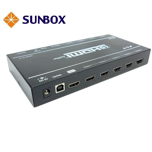 1對10 HDMI分配器 (VHS-1410) - SUNBOX
