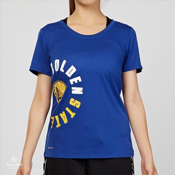 Nike Golden State Warriors Dry Tee 女子 勇士隊 短袖 上衣 926638-495