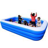 充氣泳池 嬰幼兒童充氣游泳池寶寶家庭家用小孩成人加厚超大號戲水海洋球池jy【全館免運】
