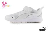 PUMA PURE JOGGER V PS 中童 全白學生鞋 摩登復古 運動鞋 慢跑鞋 J9569#白色◆OSOME奧森鞋業