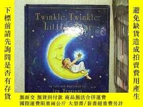 二手書博民逛書店Twinkle罕見twinkle little star 一閃一閃的小星星Y203004