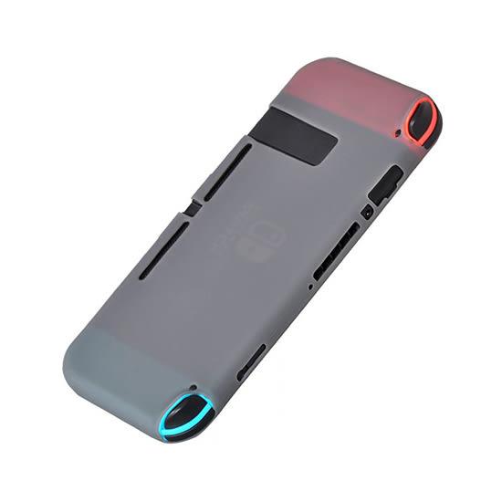 [哈GAME族]滿399免運費 可刷卡●繽紛五色●Switch NS 主機+控制器 一體式 果凍套 矽膠套 保護套