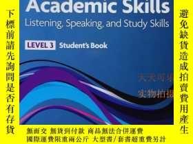 二手書博民逛書店Headway罕見Academic Skills: 3: Lis