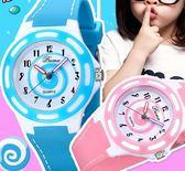 手錶  兒童手錶女孩男孩防水中小學生可愛時尚潮流果凍女童小孩少女手錶  維多原創