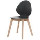 餐椅 CV-757-6 卡爾黑色餐椅【大眾家居舘】
