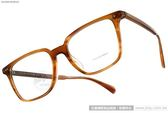OLIVER PEOPLES 光學眼鏡 OPLL 1011 (流線棕) 英式風味簡約方框款 # 金橘眼鏡