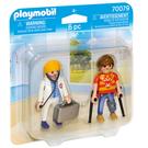playmobil 醫生與病人_PM70079