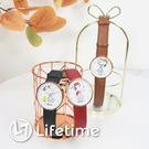 ﹝史努比手足針皮革手錶﹞正版卡通手錶 皮革錶帶 腕錶 SNOOPY〖LifeTime一生流行館〗
