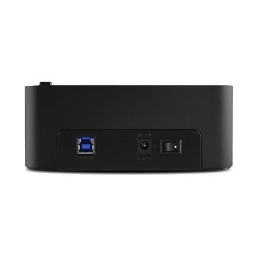 """VANTEC 凡達克 傳輸方塊 Clone-雙槽 2.5""""/3.5"""" SATA 至 USB 3.0 可對拷式硬碟外接座(NST-DP100S3)"""