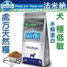 ◆MIX米克斯◆Farmina法米納-處方天然犬糧【極低敏水解蛋白2kg】VDU-13