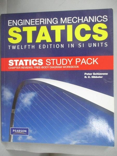 【書寶二手書T1/大學理工醫_HGX】Engineering Mechanics Static..._Peter Schiavone