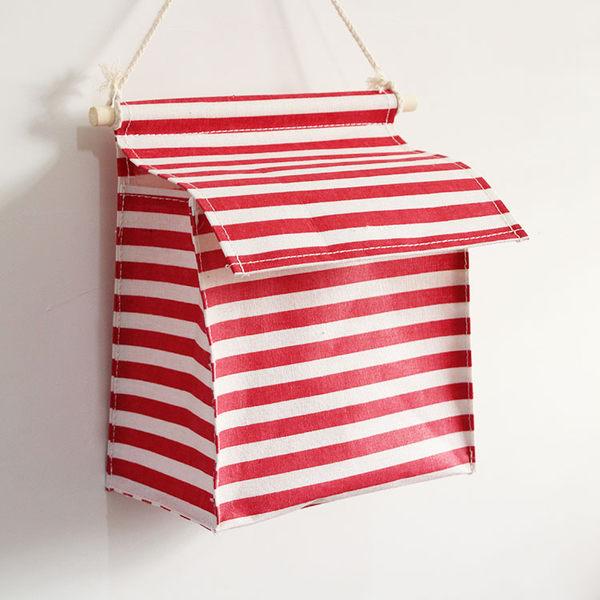 收納掛袋墻壁掛墻掛式門後可愛宿舍寢室臥室布藝衣柜床上神器儲物 居享優品