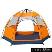 戶外3-4人二室一廳5-8人家庭套裝大帳篷露營野營防雨WY[【全館免運】]