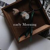 early Morning - 日本日系 立體紗花 蝴蝶結 粗髮圈 髮束 髮飾【MIJ072】