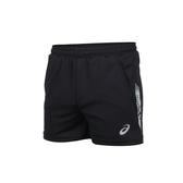 ASICS 男短版排球短褲(免運 運動 反光 亞瑟士 三分褲 針織 台灣製≡體院≡ K32045