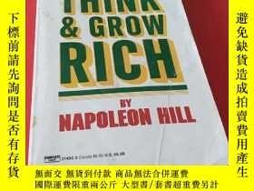 二手書博民逛書店think罕見& grow rich(思考致富)Y195426