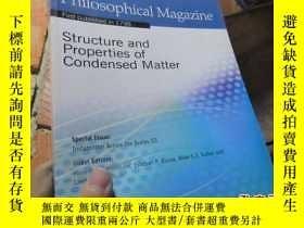 二手書博民逛書店philosophical罕見magazine volume 9