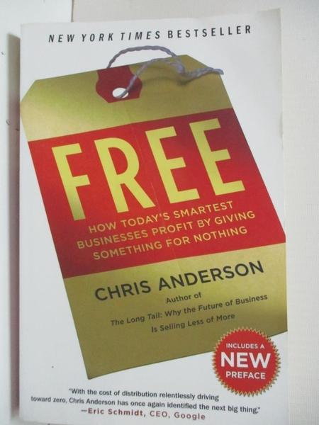 【書寶二手書T1/歷史_B5S】Free: How Today's Smartest Businesses Profit by Giving…