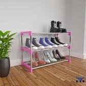 鞋架多層家用簡易床底收納小窄門口可拆卸鞋柜個性【古怪舍】
