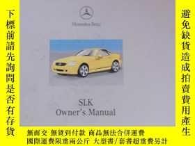二手書博民逛書店Mercedes-Benz罕見SLK Owner s ManualY227550