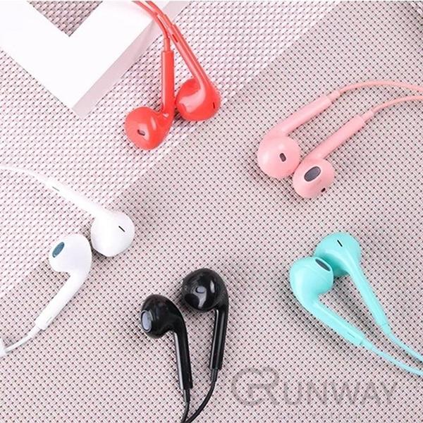 【RunWay】彩色繽紛糖果色系 EarPods 原廠外觀 高音質 線控耳機 iPhone 5 4s New iPad 2/3 iPad
