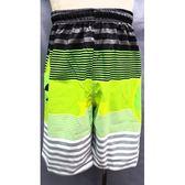 【MIT】台灣製造七分海灘褲● 【123-715-F】抽繩設計●快乾不吸水●車線密【守門員】