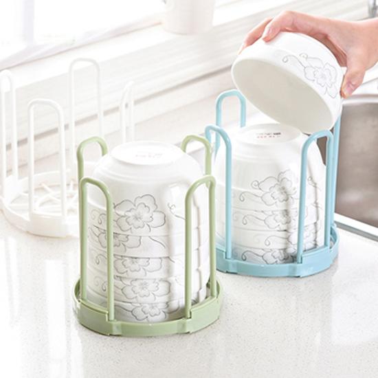 可拆卸 飯碗 瀝水架 防傾倒 碗筷 收納架 洗碗 置物架 廚房 瀝乾 碗盤 瀝水籃 【X024】米菈生活館