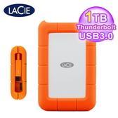 【LaCie 萊斯】Rugged 1TB USB3.0/Thunderbolt 雙介面 2.5吋行動硬碟