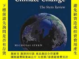 二手書博民逛書店The罕見Economics Of Climate ChangeY256260 Nicholas Stern