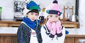 女童護耳毛  韓版兒童帽子嬰兒男童女童加厚保暖加絨護耳帽寶寶雷鋒帽潮    瑪麗蘇