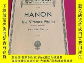 二手書博民逛書店Hanon:The罕見Virtuoso Pianist in Sixty Exercises for the Pi