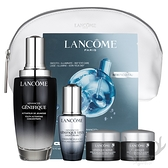 LANCOME蘭蔻 護膚限量套組 國際航空版 即期 精華液 眼霜 眼膜 乳霜 化妝包