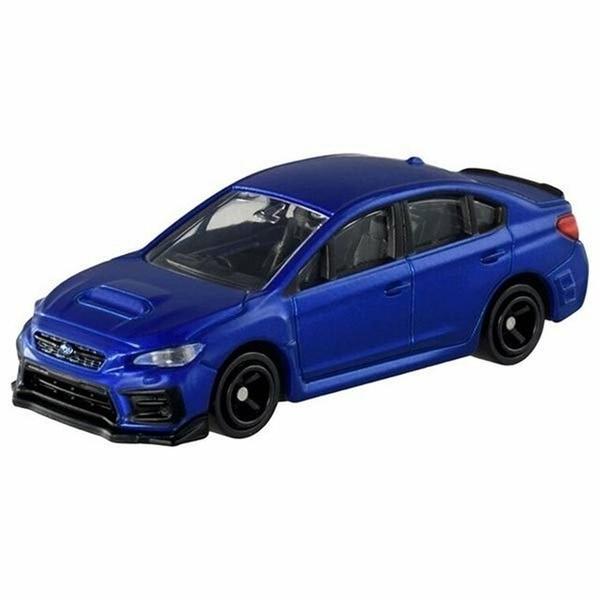 小禮堂 TOMICA多美小汽車 SUBARU WRX S4 跑車 玩具車 模型車 (115 深藍) 4904810-15855