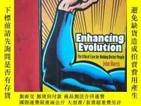 二手書博民逛書店Enhancing罕見Evolution The Ethical