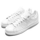 adidas 休閒鞋 Stan Smith 白 全白 皮革 經典球鞋穿搭 白鞋 男鞋 女鞋【ACS】 S75104