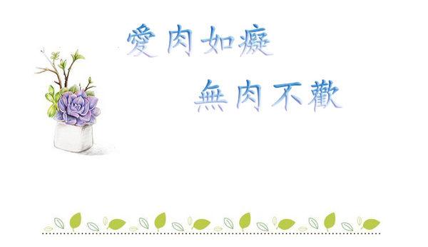 Star 陶藝系列 -甜美清新多肉植物手鏈-C24