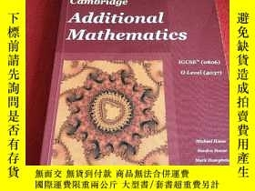 二手書博民逛書店Cambridge罕見Additional Mathematic