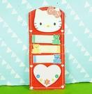 【震撼精品百貨】Hello Kitty 凱蒂貓~便利貼~格子熊【共1款】