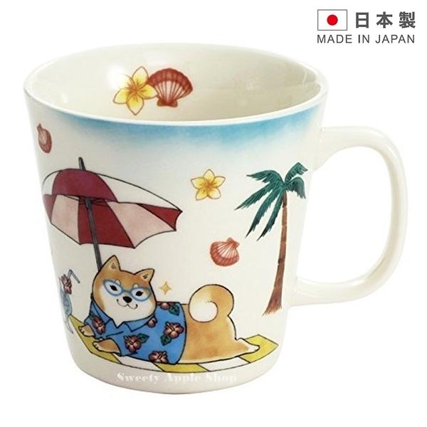 ★ 日本製 ★ 日本限定 茶柴部長 旅行度假系列 馬克杯