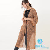 ❖ Hot item ❖ 蕾絲花邊綁帶罩衫/外套 - earth music&ecology